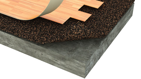 PURC 200 Underlayment for Floating Resilient Flooring