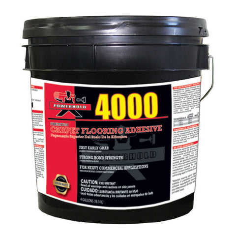 4000 Premium Carpet Adhesive - 4 Gallon
