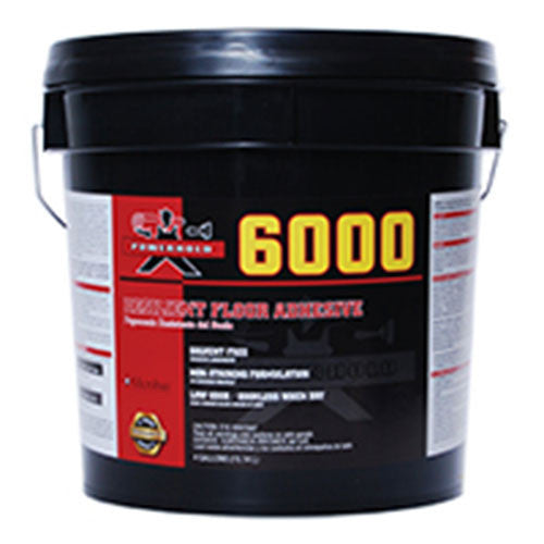 6000 Resilient Flooring Adhesive - 4 Gallon - American Fast Floors