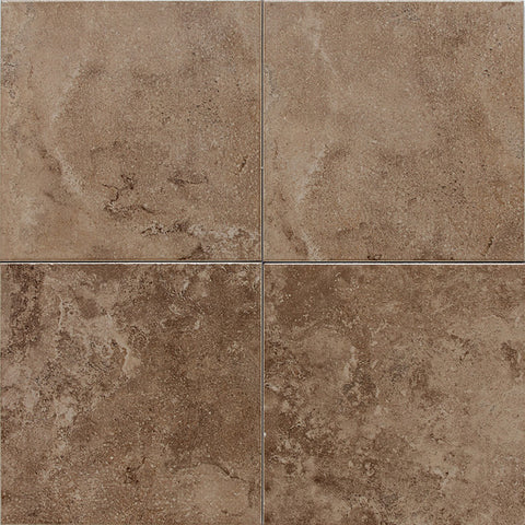 American Olean Pozzalo 18 x 18 Weathered Noce Floor Tile