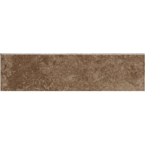 American Olean Pozzalo 2 x 6 Weathered Noce Wall Radius Bullnose - American Fast Floors