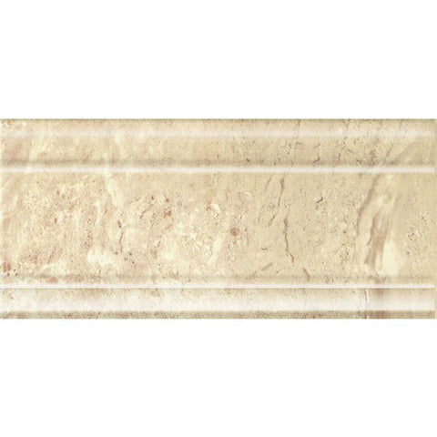 "Padova 6""X12"" Zocalo Beige Base Moulding - American Fast Floors"