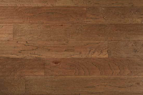 "Pagosa Wagon Wheel Hickory 5"" Engineered Hardwood - American Fast Floors"