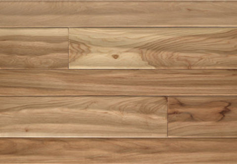 "Pembridge Vanilla Hickory 3.25"" & 5"" Solid Hardwood - American Fast Floors"