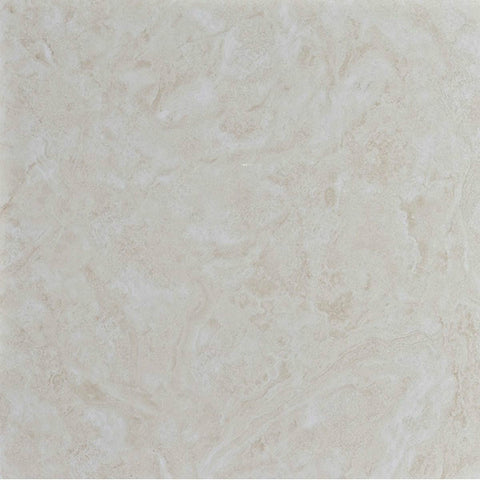 "Portonovo 12""X12"" Bone Glazed Floor Tile"