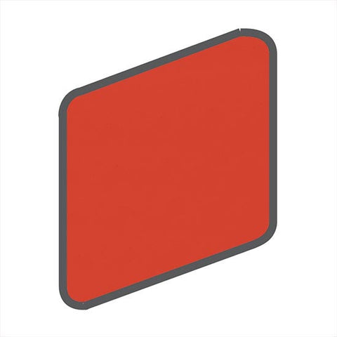 American Olean Bright 2 x 2 Watermelon Sorbet Wall Surface Bullnose Outcorner