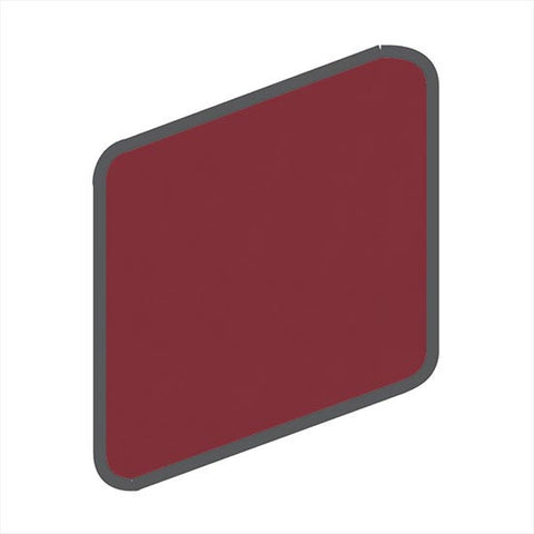 American Olean Bright 2 x 2 Pomegranate Wall Surface Bullnose Outcorner