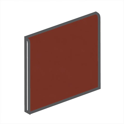 American Olean Bright 6 x 6 Chili Pepper Surface Bullnose - American Fast Floors