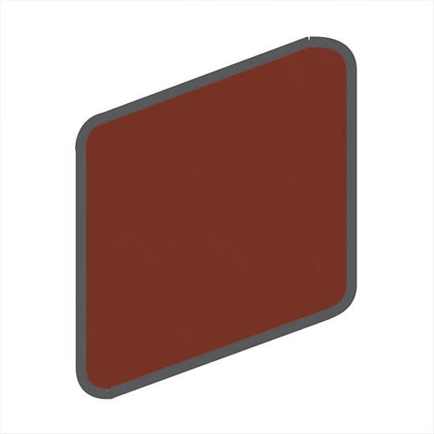 American Olean Bright 2 x 2 Chili Pepper Wall Surface Bullnose Outcorner - American Fast Floors