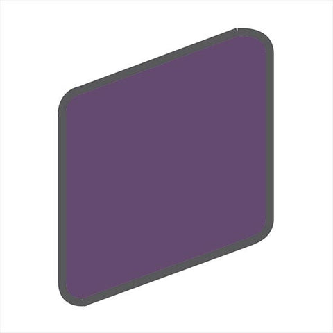 American Olean Bright 2 x 2 Grape Soda Wall Surface Bullnose Outcorner