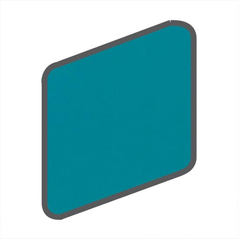 American Olean Bright 2 x 2 Peacock Blue Wall Surface Bullnose Outcorner