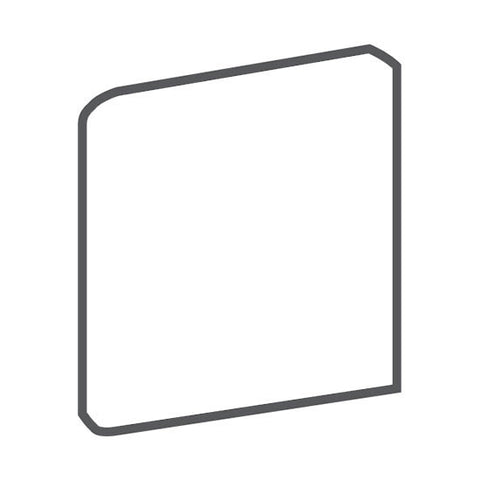 American Olean Quarry Naturals 8 x 8 Shadow Flash Bullnose Outcorner