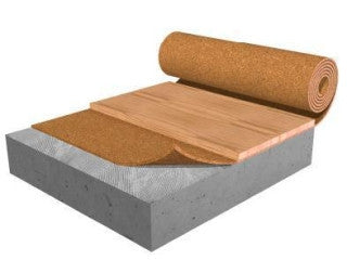 Acousti Cork R60 6mm Heated Floor Mini Roll - American Fast Floors