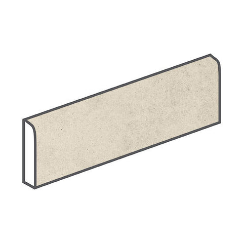 American Olean Relevance 3 x 12 Contemporary Cream Bullnose - American Fast Floors