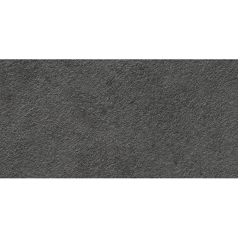 American Olean Relevance 12 x 24 Exact Black Textured Floor Tile