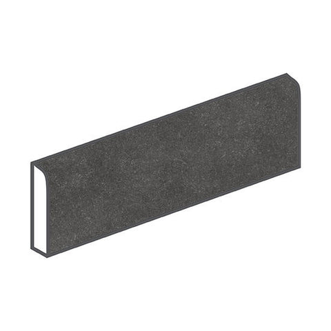 American Olean Relevance 3 x 12 Exact Black Bullnose
