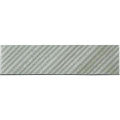 American Olean Refined Metals 2 x 8 Stainless Gloss Linear Wave Wall Tile