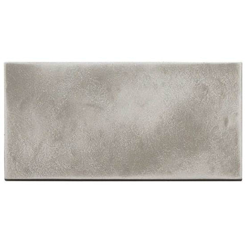 American Olean Refined Metals 4 x 8 Stainless Satin Hammered Wall Tile