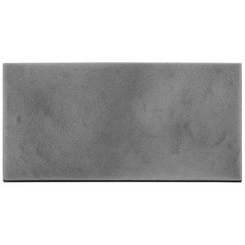 American Olean Refined Metals 4 x 8 Gunmetal Satin Hammered Wall Tile