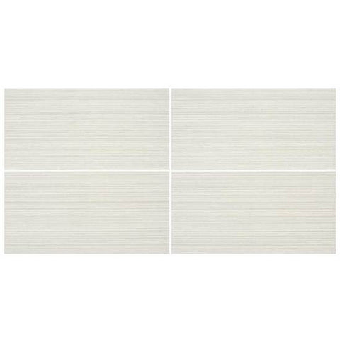 American Olean Rapport 12 x 24 Agreeable White Floor Tile