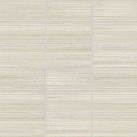 American Olean Rapport Harmony Beige 2 x 4 Straight-Joint Mosaic