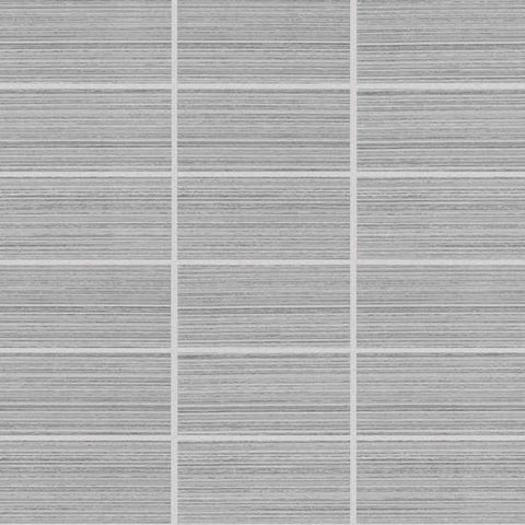 American Olean Rapport Cordial Gray 2 x 4 Straight-Joint Mosaic