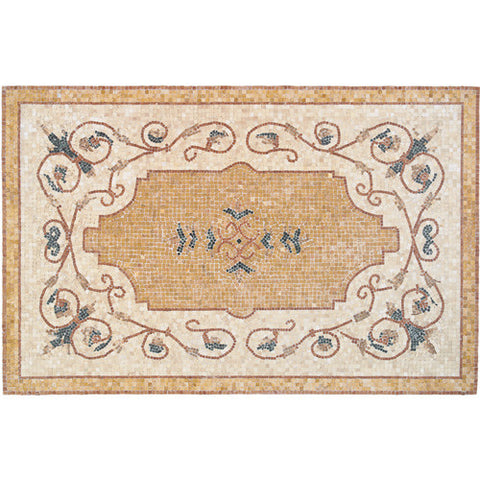 Daltile Medallion Collection 72 x 48 Vigneto Natural Stone Tile - American Fast Floors
