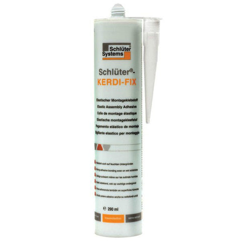 Schluter Kerdi Fix Bonding Compound Bright White - 9.8 Oz - American Fast Floors