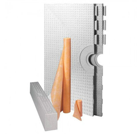 Schluter Kerdi Shower Kit Without Drain 32 X 60 Tray - American Fast Floors