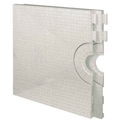 Schluter Kerdi Shower St 32  X 60  Shower Tray Center Drain Placement - American Fast Floors