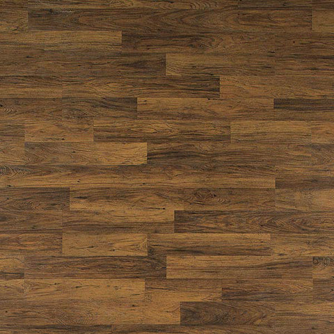 Quick Step Home Sound Brownstone Hickory 2 -Strip Laminate Flooring - American Fast Floors