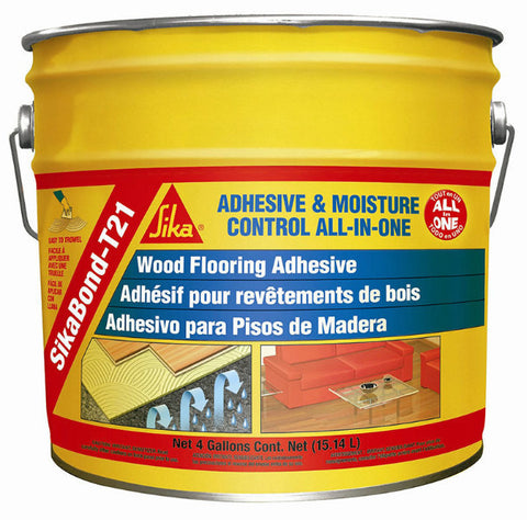 Sikabond T21 Wood Polyurethane Adhesive - 4 Gallon - American Fast Floors