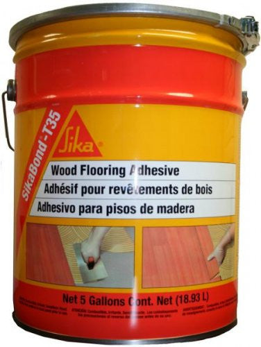 Sikabond T35 Urethane Adhesive - 5 Gallon - American Fast Floors