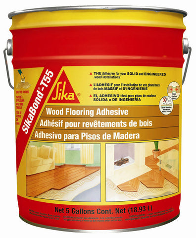 Sika Sikabond T55 Urethane Adhesive - 5 Gallon - American Fast Floors
