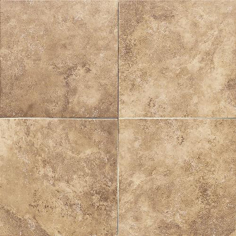 Daltile Salerno 18 x 18 Marrone Chiaro Floor Tile