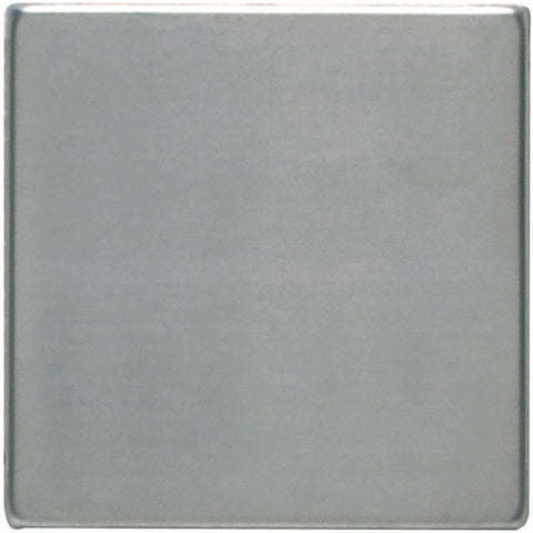 Daltile Metallica 4 x 4 Brushed Stainless Steel Field Tile