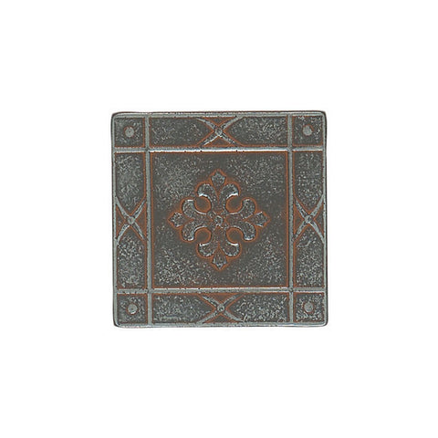 American Olean Saxon Metals 2 x 2 Iron Signet Accent - American Fast Floors
