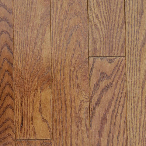 "Mullican Oak Pointe 2-1/4"" Oak Saddle Solid Hardwood"