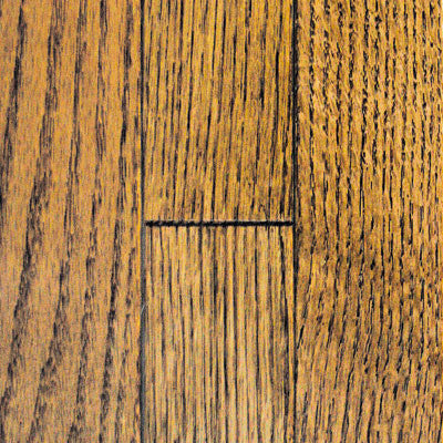 "Mullican Muirfield 4"" Oak Saddle Solid Hardwood"