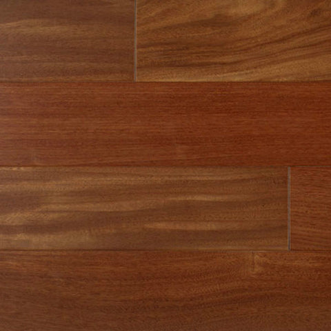 "IndusParquet Santos Mahogany 5/16"" x 3"" Engineered Hardwood - American Fast Floors"