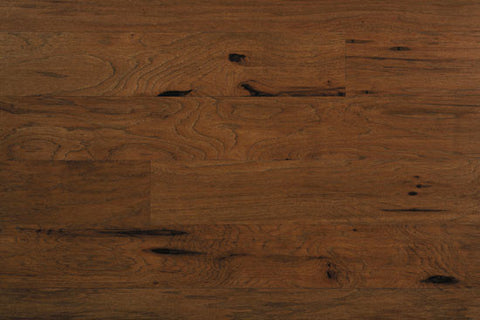 "Silverton Morning Tea Hickory 5"" Solid Hardwood"