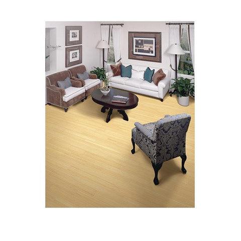 Solid Traditional Bamboo Tongue & Groove Natural Vertical - American Fast Floors