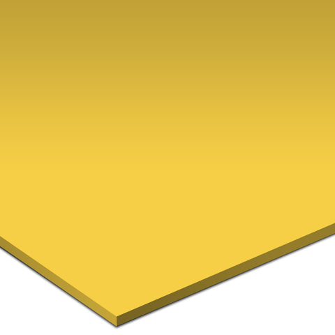 "Color Collection Bright 4-1/4""X4-1/4"" Mustard Surface Bullnose Angle"