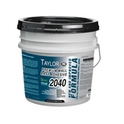 2040 Premium Cove Base Adhesive - 4 Gallon