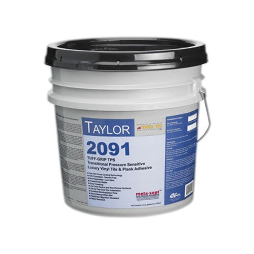 2091 Pressure Sensitive Vinyl Tile And Plank Adhesive - 4 Gallon - American Fast Floors