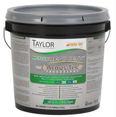 Ms Plus Resilient Flooring Adhesive - 2 Gallon - American Fast Floors