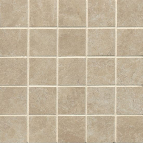 Bedrosians Indiana Stone Mosaic Beige - American Fast Floors