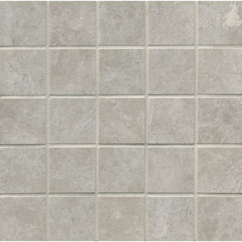 Bedrosians Indiana Stone Mosaic Silver - American Fast Floors