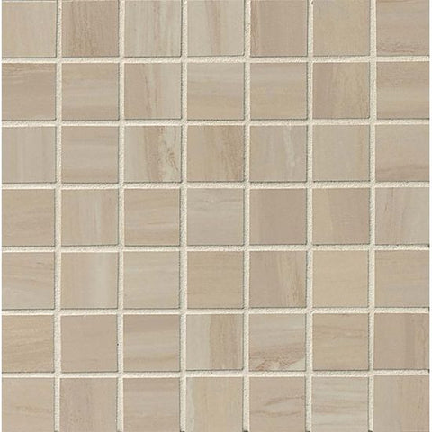Bedrosians Rose Wood Mosaic Off White - American Fast Floors