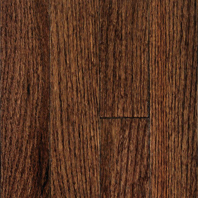 "Mullican Muirfield 2-1/4"" Oak Tuscan Brown Solid Hardwood"